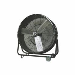 TPI CPBS30D 1-Phase Direct Drive Portable Blower, 120 VAC, 1/3 hp, 5500/6300 cfm Flow Rate, 30 in Propeller, Steel Propeller, Import
