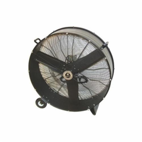 TPI CPB36D 1-Phase Direct Drive Standard Portable Blower, 120 VAC, 1/3 hp, 7000/8200 cfm, 36 in, Steel Propeller, Import