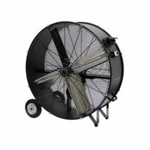 TPI CPB48B 1-Phase Belt Drive Standard Portable Blower, 120 VAC, 3/4 hp, 12000/15000 cfm Flow Rate, 48 in Propeller, Aluminum Propeller, Import