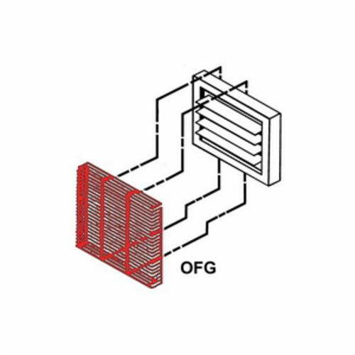 TPI OFG51100 Fan Guard, For Use With 5100 Series 80 to 100 kW Suspended Fan Forced Unit Heater, Domestic