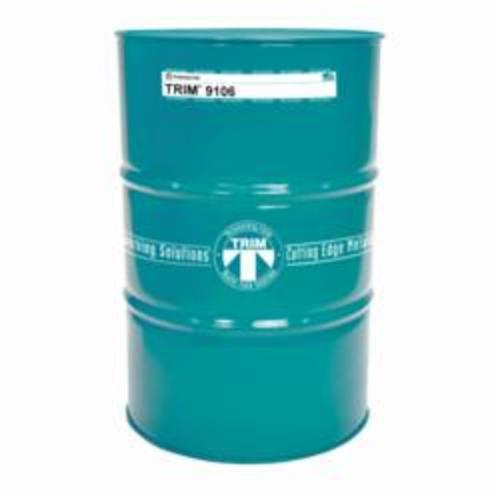 TRIM® 9106/54 Synthetic Coolant, 54 gal Drum, Clear, Liquid