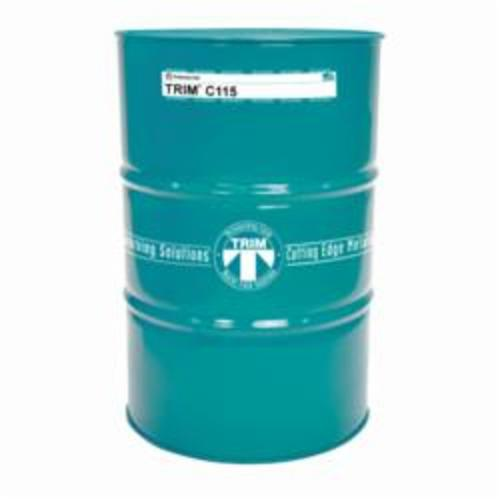 TRIM® C115/54 High Performance Synthetic Coolant, 54 gal Drum, Mild Sweet, Liquid, Pale Yellow