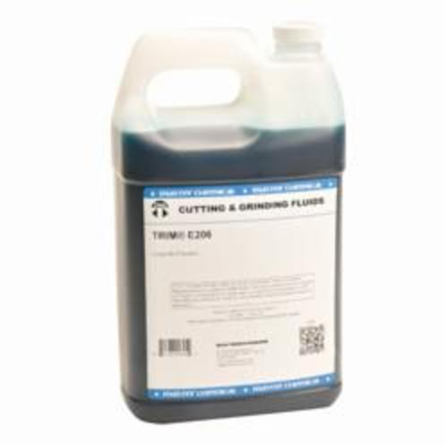 TRIM® E206N/1 Long Life Emulsion, 1 gal Jug, Dark Blue (Concentrate)/Blue (Working Solution), Liquid