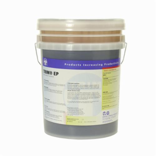 TRIM® EP/5 EP Series High Performance High Lubricity Semi-Chemical/Semi-Synthetic Oil, 5 gal Pail, Brown, Liquid