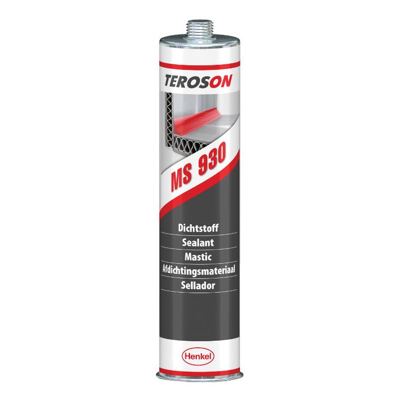 Teroson® 1806599 MS 930™ 1-Part General Purpose Polymer Sealant, 310 mL Cartridge, Gray