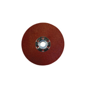 Tiger® 60621 Fast Cut High Performance Long Life Performance Line Coated Abrasive Disc, 7 in Dia, 5/8-11 UNC Center Hole, 36 Grit, Extra Coarse Grade, Aluminum Oxide Abrasive, Threaded Attachment