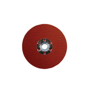 Tiger® 69904 Max Performance Performance Line Superior Life and Cut Coated Abrasive Disc, 9 in Dia, 5/8-11 UNC Center Hole, 60 Grit, Coarse Grade, Ceramic Alumina Abrasive, Threaded Attachment