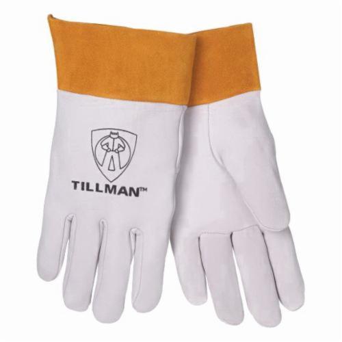 Tillman™ 24D Premium Grade TIG Welding Gloves, Kid Skin, Pearl, Unlined, 10 to 11 in L