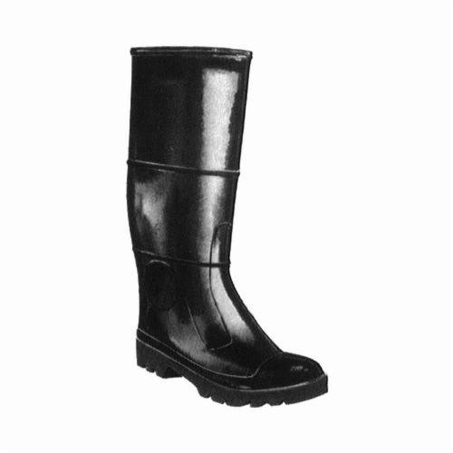 Tingley 31244-09 Economy Grade General Purpose Knee Boots, Men's, SZ 9, 16 in H, Steel Toe, PVC Upper, PVC Outsole, Resists: Abrasion, Chemical and Water, Specifications Met: ASTM F2413 M I/75/C/75
