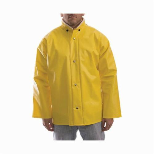 Tingley Webdri® J31207-XL Rain Jacket, Men's, XL, Yellow, Polyester/PVC, Resists: Many Acids, Oils, Alcohols, Salts and Alkalies