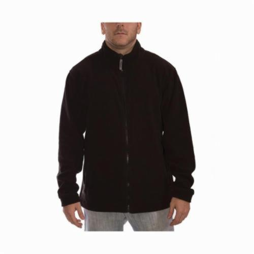 Tingley Icon 3.1™ J72003-LG J72003 Fleece Jacket, Black, 12 mil Polyester, 47 in Chest