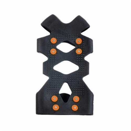Trex™ 16754 Ice Traction 6300 1-Piece Ice Traction Device, Unisex, L, Carbon Steel/Stretchable Rubber, Black, For Use With Shoe and Boot