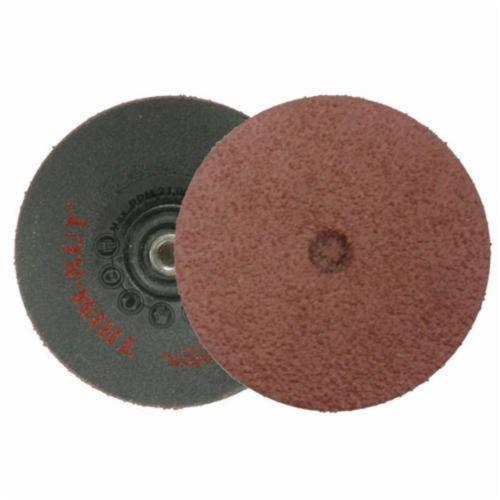 Trim-Kut® 59300 Grinding Disc, 3 in Dia, 36 Grit, Very Coarse Grade, Aluminum Oxide Abrasive, Polymer Backing