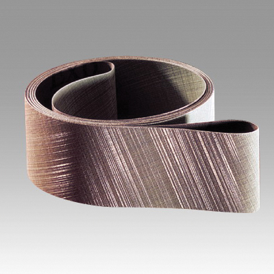 Trizact™ 051111-51203 Fullflex Narrow Coated Abrasive Belt, 3 in W x 118 in L, A30 Grit, Super Fine Grade, Aluminum Oxide Abrasive, Rayon Backing