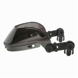 U.S. Safety™ 482CAP Single Matrix® Faceshield Headgear With Hard Hat Attachment, Cap, Gray Frame, Polycarbonate Glass, For Use With Slotted Hard Hats, Ratchet Adjustment