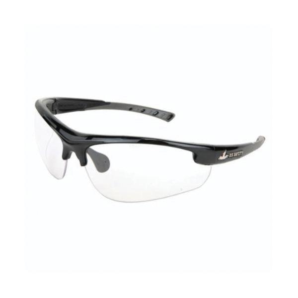 U.S. Safety™ DM1210P Dominator™ DM2 Premium Dual Lens Safety Glasses, MAX3™ Hard Coat Clear Lens, Black Polycarbonate Frame, Specifications Met: ANSI Z87+