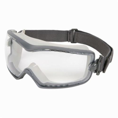 U.S. Safety™ HB1210PF Indirect Vented Scratch Resistant Protective Goggles, MAX6™ Anti-Fog Clear, 99.9 % UV Protection, Elastic Strap, ANSI Z87+