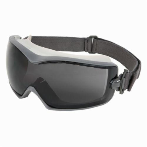 U.S. Safety™ HB1212AF Hydroblast Indirect Vented Scratch Resistant Protective Goggles, Duramass® Anti-Fog Gray Lens, 99.9% % UV Protection, Elastic Strap, Specifications Met: ANSI Z87+
