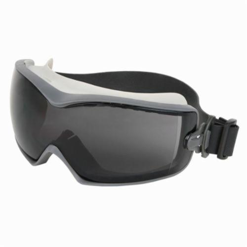 U.S. Safety™ HB1222AF Hydroblast Indirect Vented Scratch Resistant Protective Goggles, Duramass® Anti-Fog Gray Lens, 99.9% % UV Protection, Rubber Strap, Specifications Met: ANSI Z87+