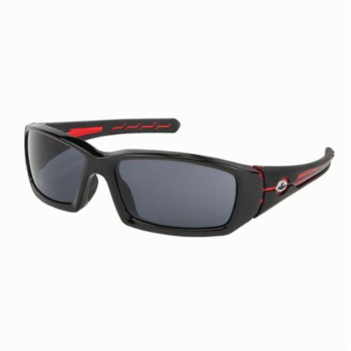 U.S. Safety™ PN1232PF Pantera® Dual Lens Safety Glasses, MAX6™ Anti-Fog Gray Lens, Black Nylon Frame, Specifications Met: ANSI Z87+