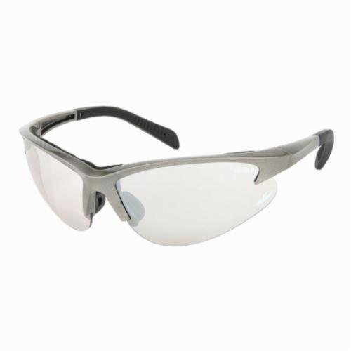 U.S. Safety™ SO119 Solaris® Premium Safety Glasses, Duramass® Hard Coat Indoor/Outdoor Clear Mirror Lens, Slate Nylon Frame, Specifications Met: ANSI Z87+