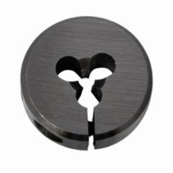 Union Butterfield® 1410016 2010 Adjustable Round Split Threading Die, Imperial, #4-40 UNC Thread, 1/4 in THK, 13/16 in OD Die, Chromium Steel