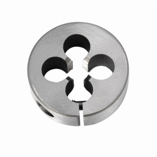 Union Butterfield® 1410144 2010 Adjustable Round Split Threading Die Union Butterfield®, Imperial, 1-14 UNS Thread, 1 in THK, 3 in OD Die, Chromium Steel