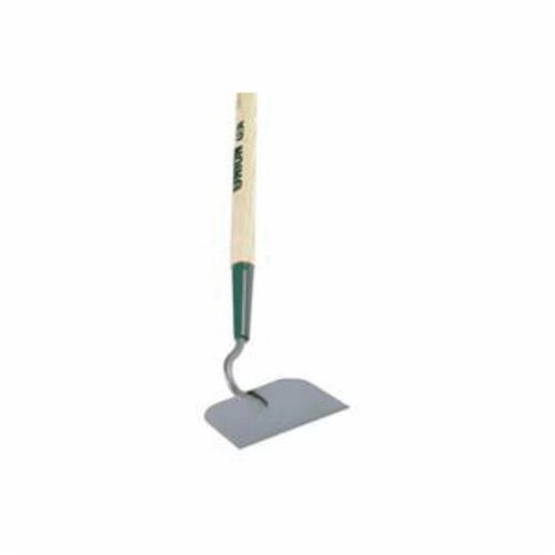 UnionTools® 66108 Shank Pattern Garden Hoe, 6-1/4 in in L x 4-3/4 in in W, Steel Blade, 54 in in L Hardwood Handle