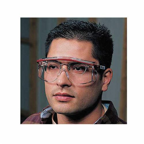 Uvex® by Honeywell S560, Scratch Resistant/Ultra-Dura® Hardcoat Polycarbonate Clear Lens, For Use With Astro OTG 3001 Series Safety Spectacle