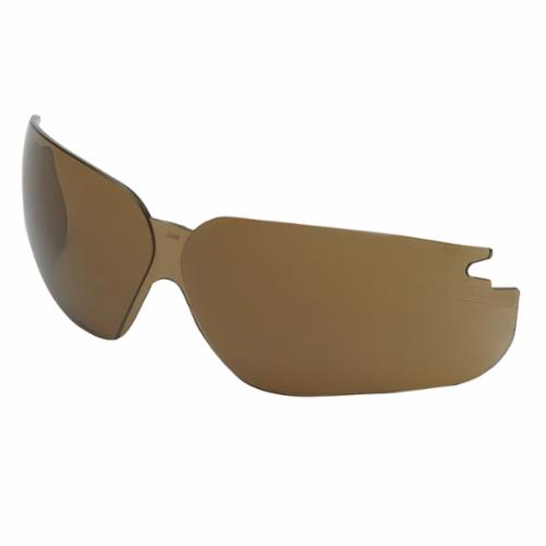 Uvex® by Honeywell S6901 Replacement Lenses, Ultra-dura® Hard Coat Espresso Polycarbonate Lens, For Use With Genesis® Protective Eyewear
