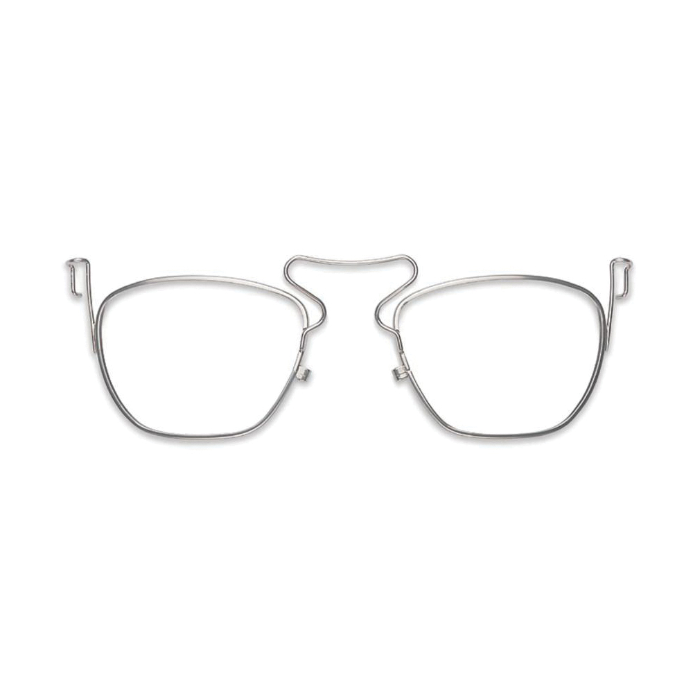 Uvex® by Honeywell S3350, Silver Polycarbonate/Stainless Steel Frame, For Use With Genesis® XC Series Protective Eyewear