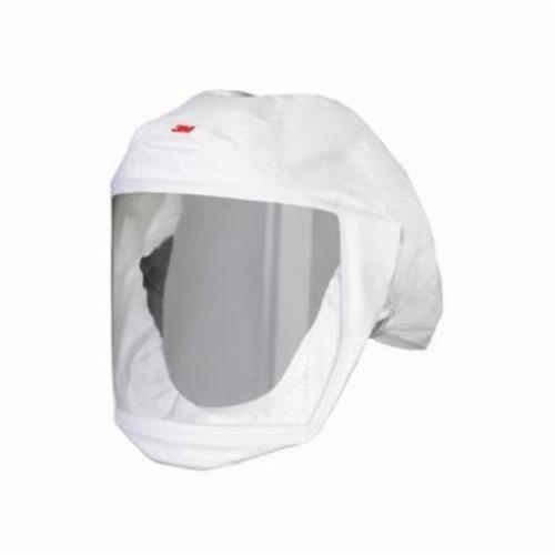 3M™ Versaflo™ 051131-17075 S-Series Small/Medium Headcover With Integrated Head, For Use With 3M™ S-Series, TR-Series, V Series Powered Air Purifying and Supplied Air Respirator Systems, White, NIOSH Approved