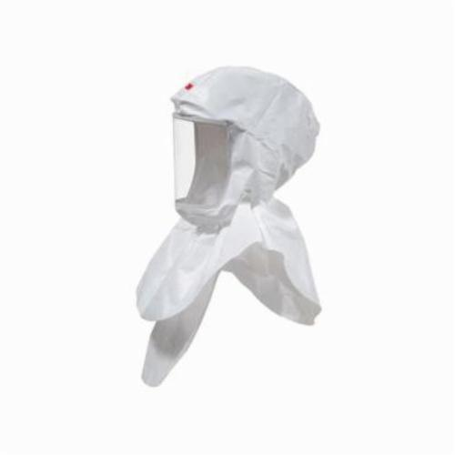 3M™ Versaflo™ 051131-17092 S Series Replacement Hood, Standard, For Use With 3M™ Powered Air Purifying and Supplied Air Respirator Systems, White