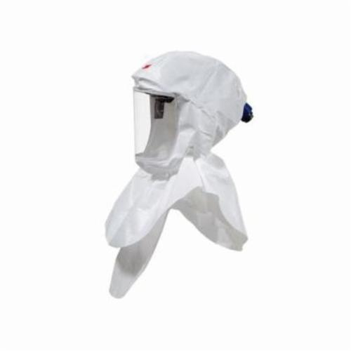 Versaflo™ 051131-17094 S Series Hood Assembly, Standard, For Use With 3M™ Powered Air Purifying and Supplied Air Respirator Systems, White