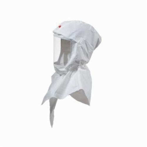 3M™ Versaflo™ 051131-37300 S Series Replacement Painter`s Hood, Standard, For Use With 3M™ Powered Air Purifying and Supplied Air Respirator Systems, White