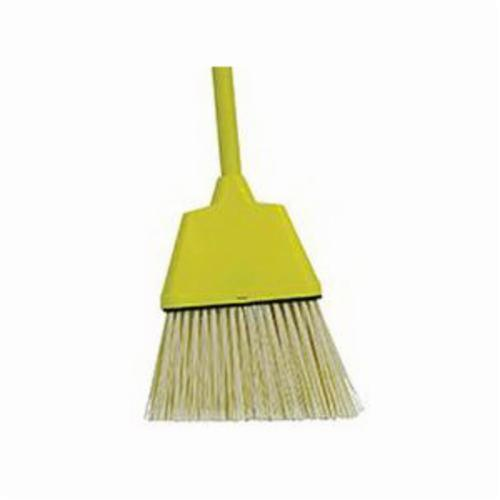 Vortec Pro® 75160 Small Angle Broom, Flagged Plastic Bristle, 8 in Plastic Sweep Face, 3-3/4 to 5 in L Trim, Wood Handle, 54 in OAL