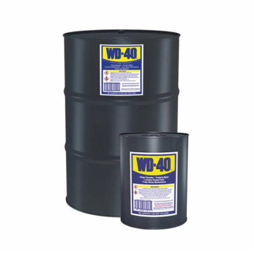 WD-40® 49012 Multi-Use Lubricant, 5 gal Pail, Liquid Form, Light Amber, 0.8