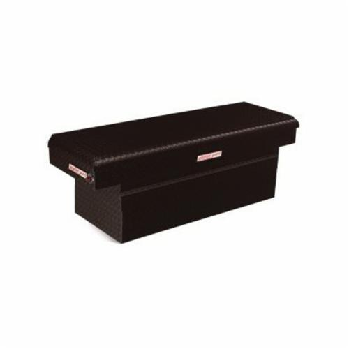 WEATHER GUARD® 123-5-01 Full Extra Deep Saddle Box, 24 in H x 20-1/4 in W x 71-1/2 in D, 15.1 cu-ft, Gloss Black