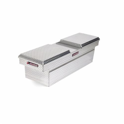 WEATHER GUARD® 124-0-01 Full Standard Cross Box, 18-3/8 in H x 20-1/2 in W x 72 in D, 11.3 cu-ft, Clear