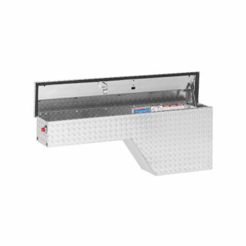 WEATHER GUARD® 170-0-01 Driver Side Pork Chop Box, 19-1/2 in H x 9-1/4 in W x 46-3/4 in D, 2.1 cu-ft, Clear