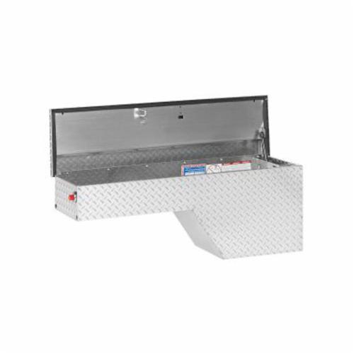 WEATHER GUARD® 172-0-01 Driver Side Pork Chop Box, 19-1/2 in H x 13-1/2 in W x 46-3/4 in D, 3.4 cu-ft, Clear