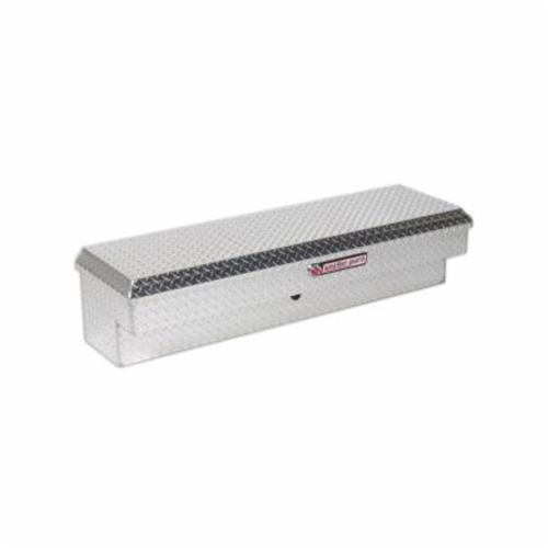 WEATHER GUARD® 174-0-01 Short Lo-Side Box, 13-1/4 in H x 16-1/4 in W x 56-1/4 in D, 4.1 cu-ft, Clear