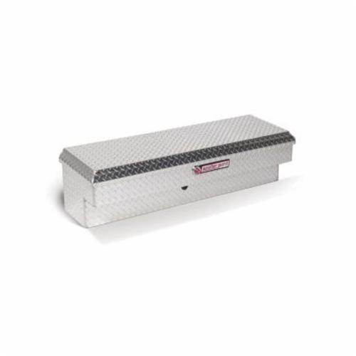 WEATHER GUARD® 184-0-01 Short Lo-Side Box, 13-1/4 in H x 16-1/4 in W x 47-1/4 in D, 3.4 cu-ft, Clear