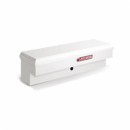 WEATHER GUARD® 185-3-01 Short Lo-Side Box, 13 in H x 13-1/2 in W x 46-1/4 in D, 3.2 cu-ft, Brite White