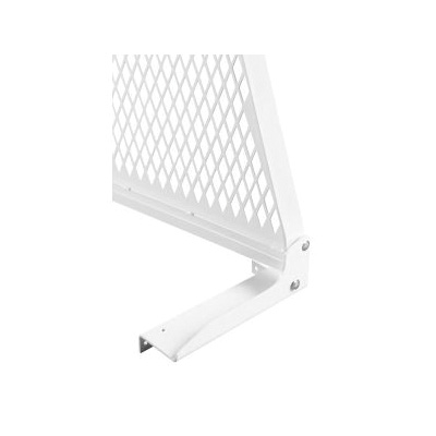 WEATHER GUARD® 1916-3 Cab Protector Mounting Kit, Armor-Tuf® Powder Coated, For Use With Model 1999 and Newer Chevrolet Silverado, Steel, White