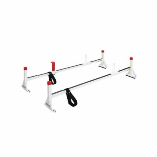 WEATHER GUARD® 229-3 All Purpose Quick Clamp Roof Rack, 73-1/2 in L x 8 in W, Brite White