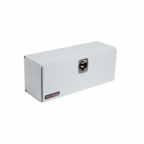 WEATHER GUARD® 246-3-02 Short Hi-Side Box, 16 in H x 13-1/4 in W x 45-1/2 in D, 5.6 cu-ft, Brite White