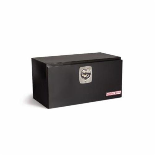WEATHER GUARD® 530-5-02 Short Standard Underbed Box, 18-1/4 in H x 18-1/8 in W x 30-1/8 in D, 5.6 cu-ft, Gloss Black