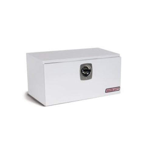 WEATHER GUARD® 536-3-02 Short Standard Underbed Box, 18 in H x 18-1/4 in W x 36-5/8 in D, 6.2 cu-ft, Brite White