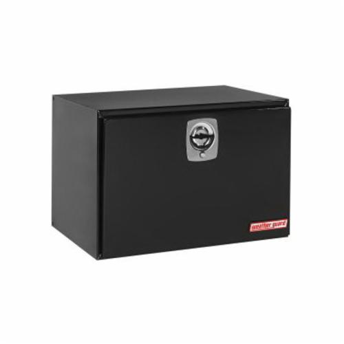 WEATHER GUARD® 538-5-02 Jumbo Short Underbed Box, 24-1/8 in H x 24-1/4 in W x 36-5/8 in D, 12.1 cu-ft, Gloss Black